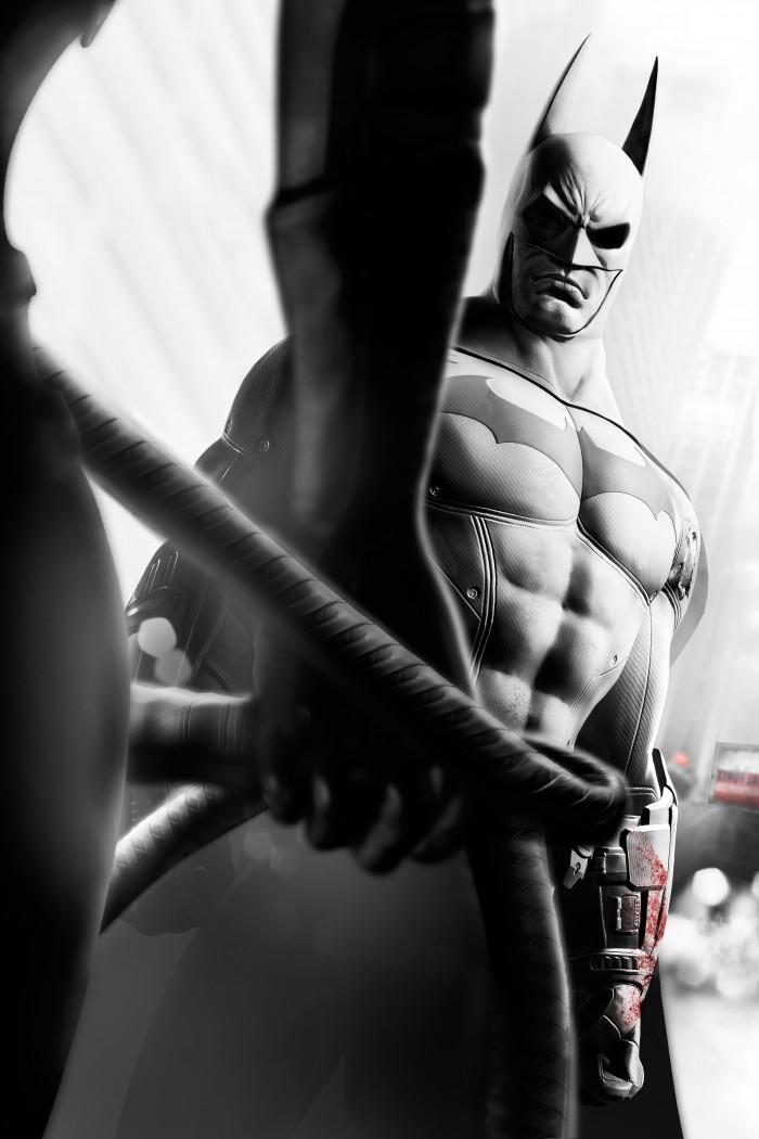 Batman staring at catwomans sweet tits 700x1050 Batman staring at catwoman's sweet tits