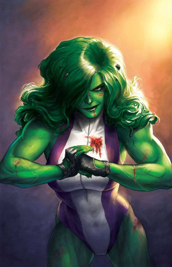 She Hulk gets messy 700x1088 She Hulk gets messy