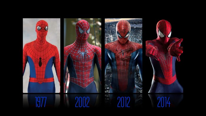 Spider man suits 700x394 Spider man suits