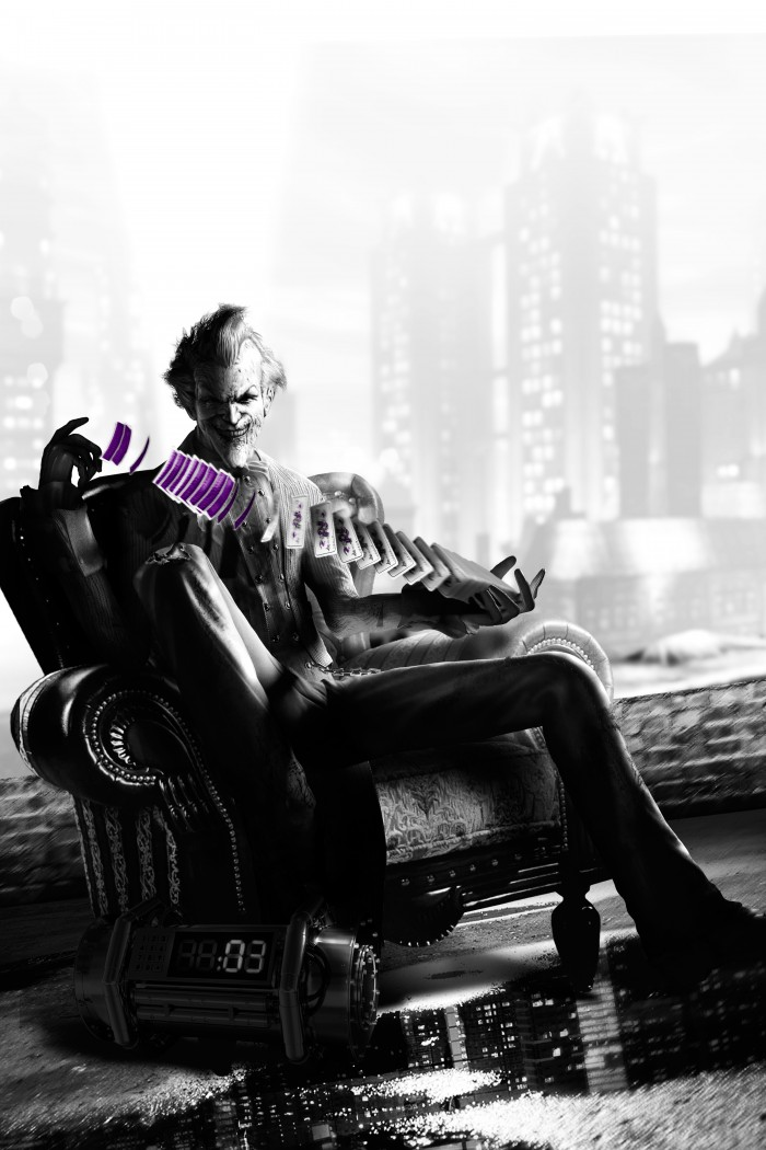 The Joker with his Purple Cards 700x1050 The Joker with his Purple Cards