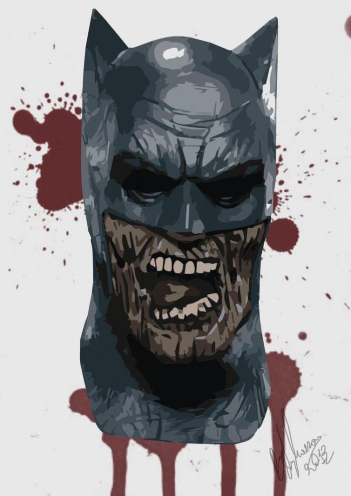 Zombie batman by Peter Stylianou 700x989 Zombie batman by Peter Stylianou
