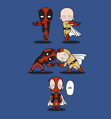 deadpool and one punch man.jpg