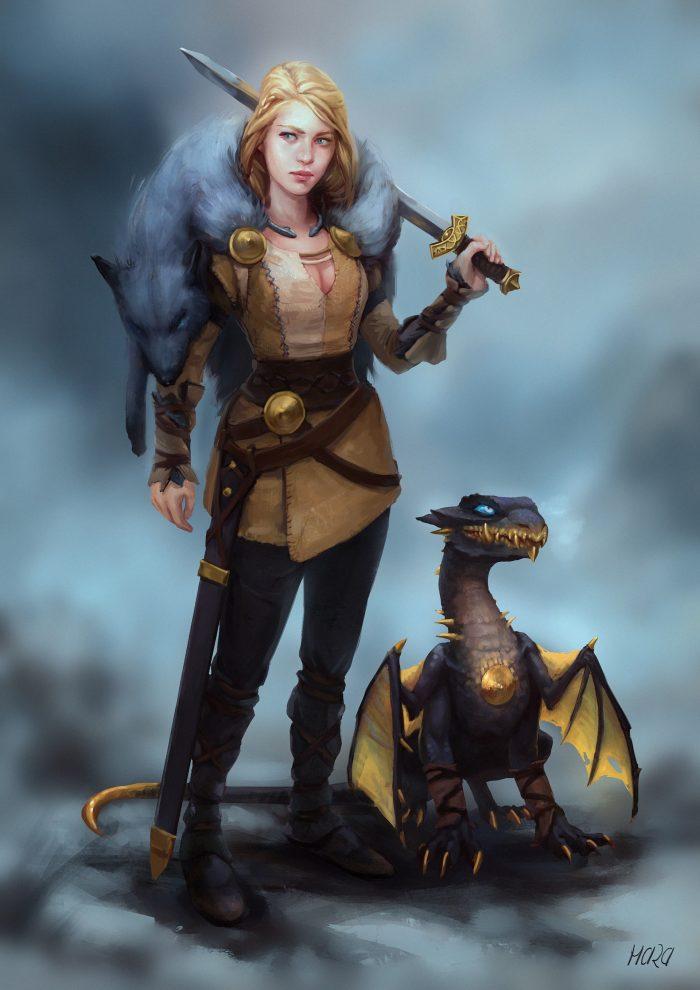 Hunter with Pet Dragon.jpg
