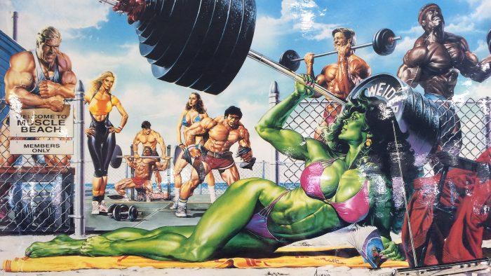 She Hulk on muscle beach.jpg