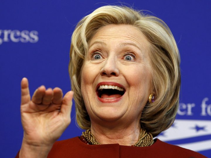 Hillary Clinton is singing for you.jpg