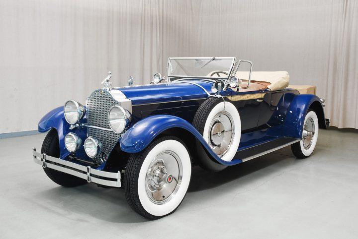 1929 packard 640 roadster a