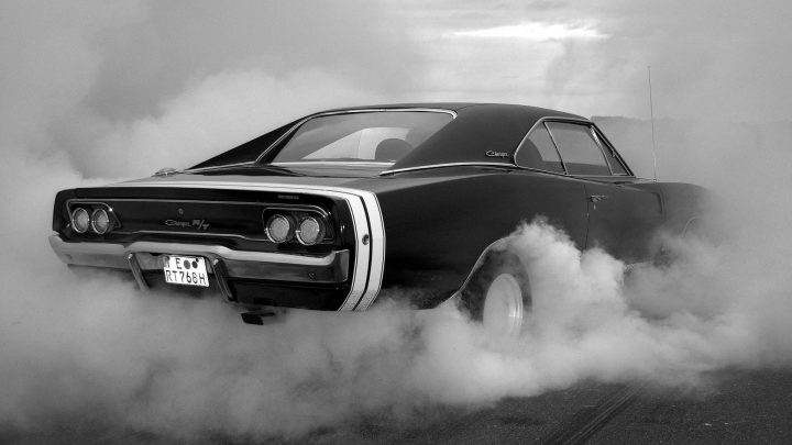 Charger Burn out.jpg
