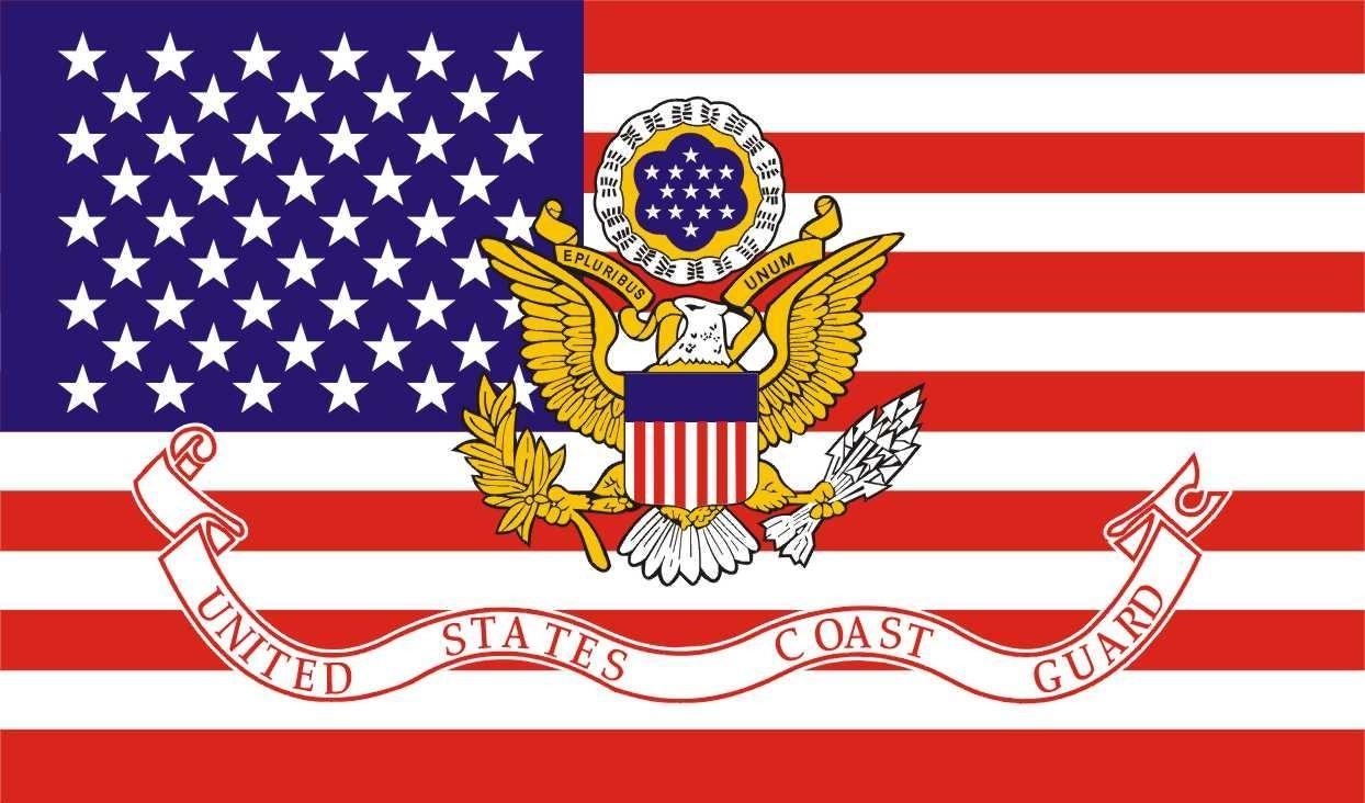 Flag Of The United States Coast Guard Myconfinedspace