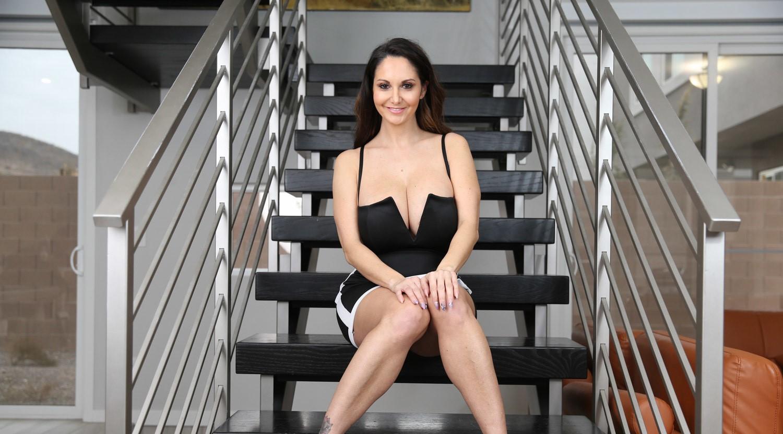 Ava Addams ava addams on the stairs « myconfinedspace