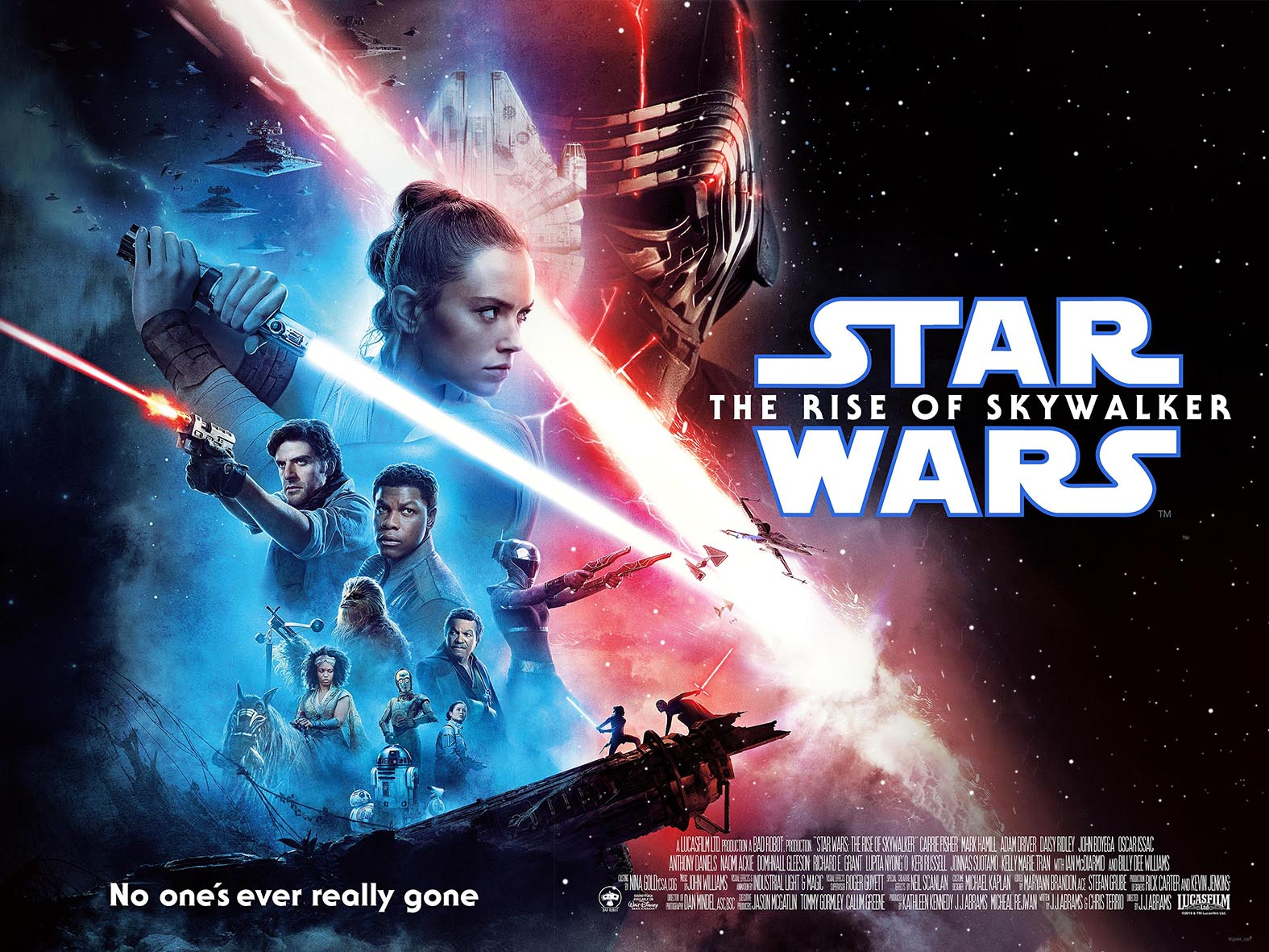 Star Wars The Rise of Skywalker poster « MyConfinedSpace