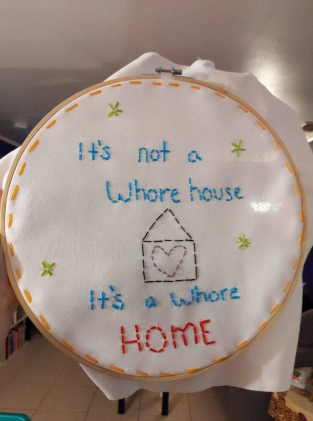 not a whore house