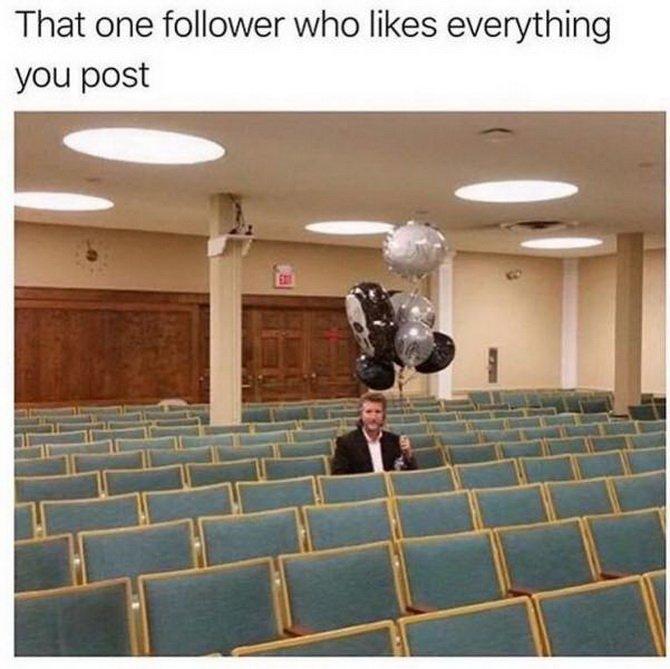 that one follower