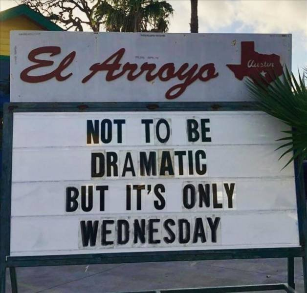 not to be dramatic