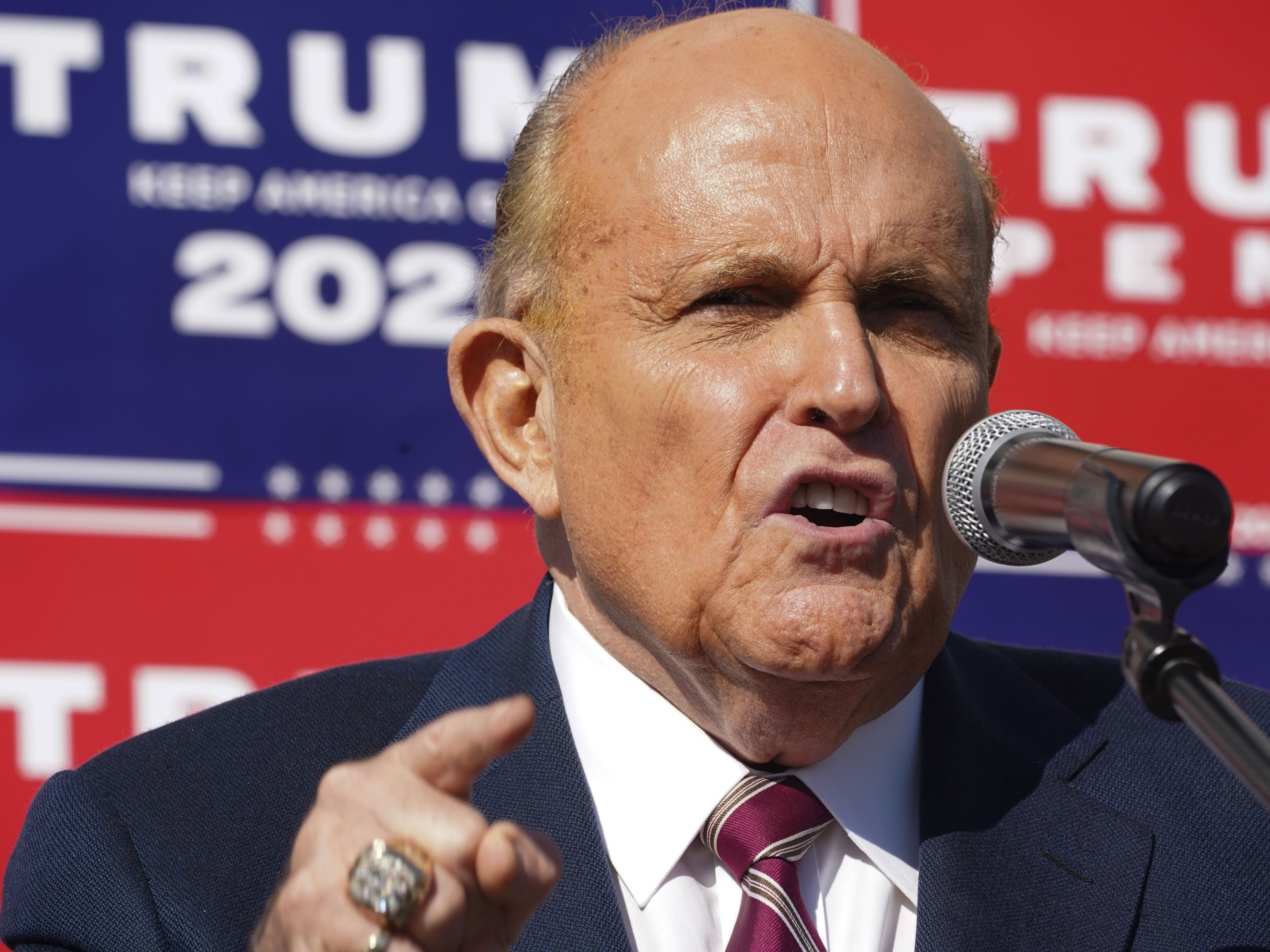 Rudy Giuliani reportedly seeks pardon from Donald Trump