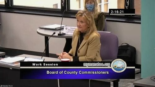 The Florida official who set up a vaccine site for affluent ZIP codes and created a VIP list is under investigation sheriff's office says