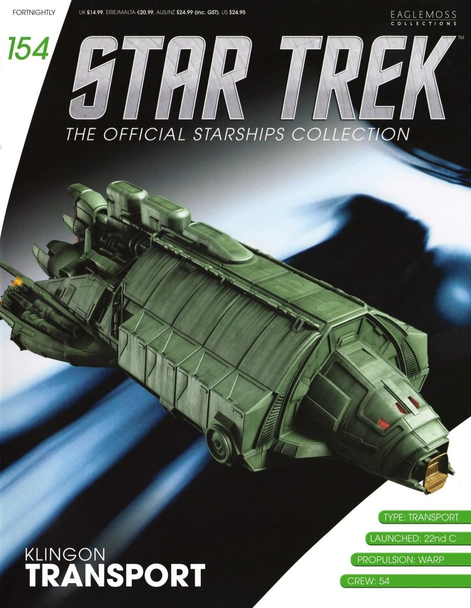 Star Trek The Official Starships Collection #154 Klingon Rebel Transport