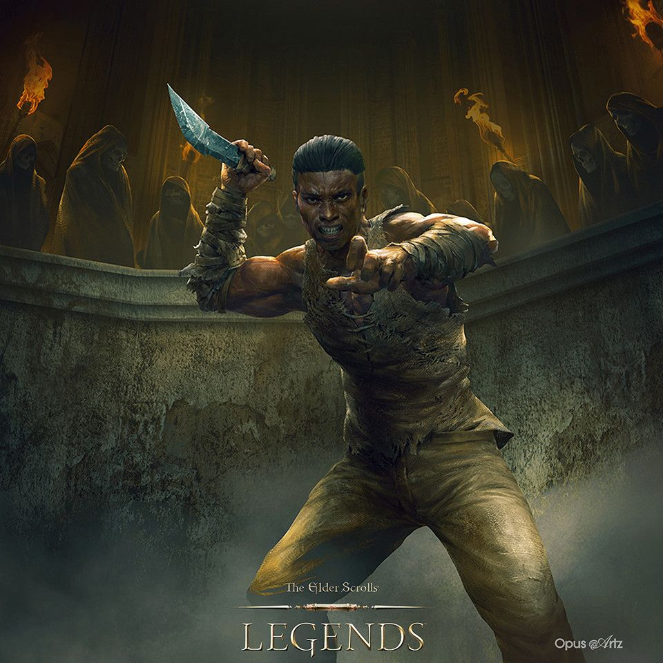 TES Legends Reckless Combatant by Bjorn Hurri
