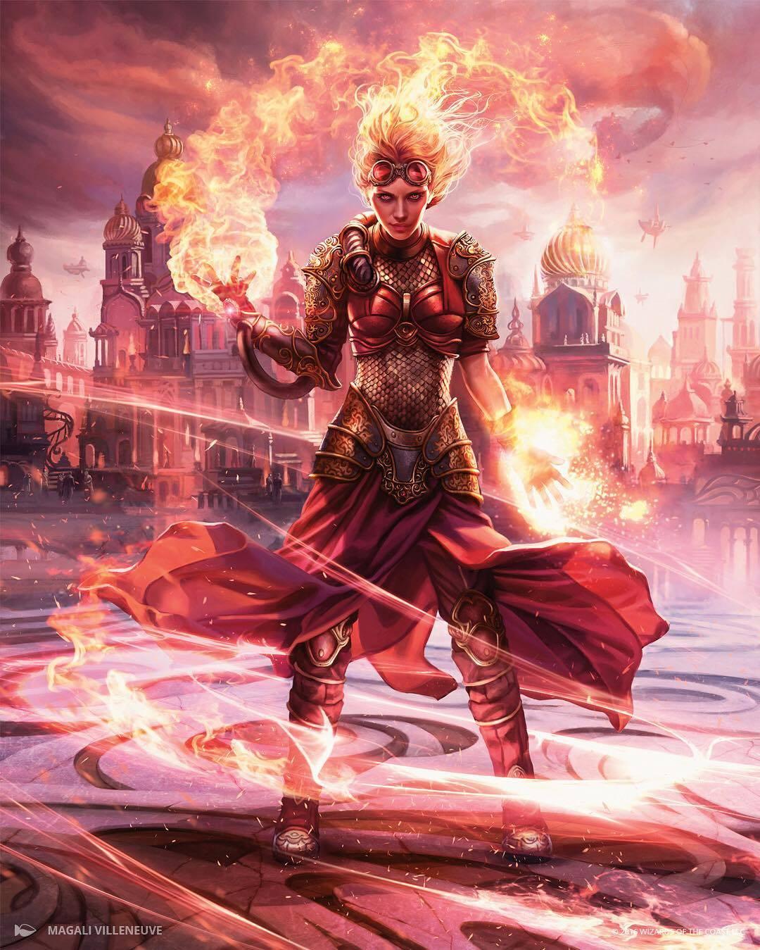 Chandra Torch of Defiance by Magali Villeneuve 1080 x 1349