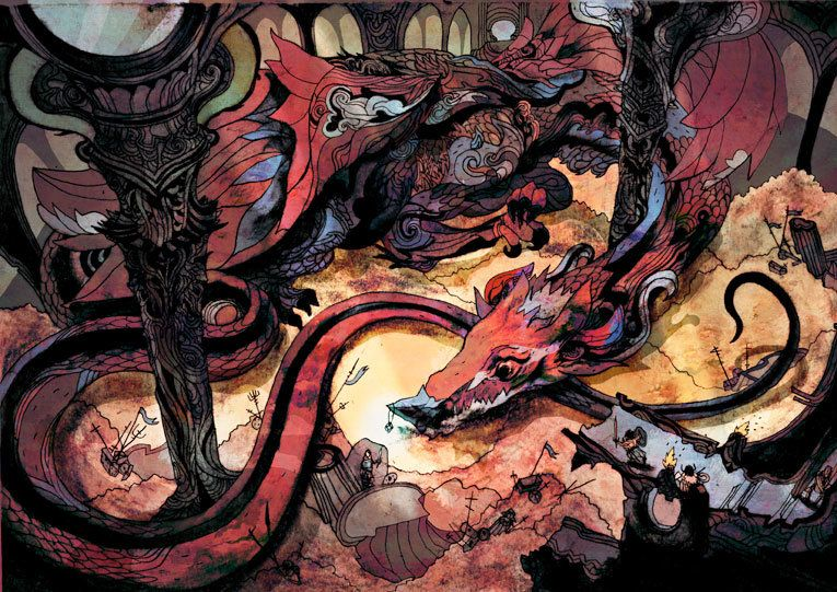 Smaug by Guy Pascal Vallez