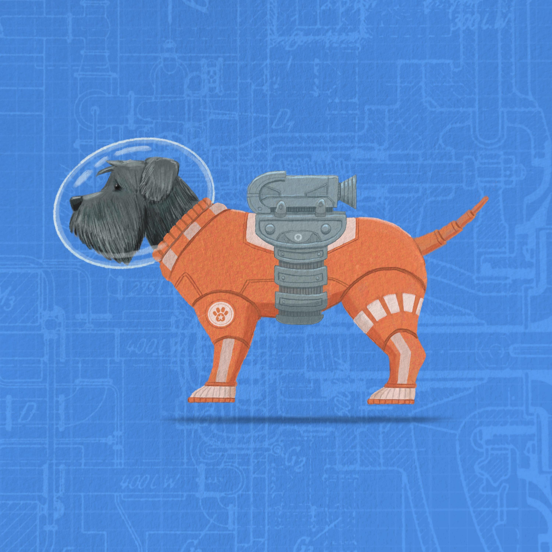 Space Doggo Space Suit