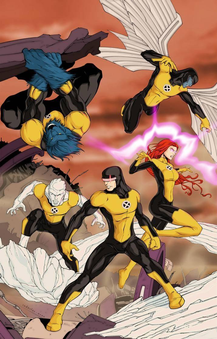 X-Men Cover by Salvador Velzquez
