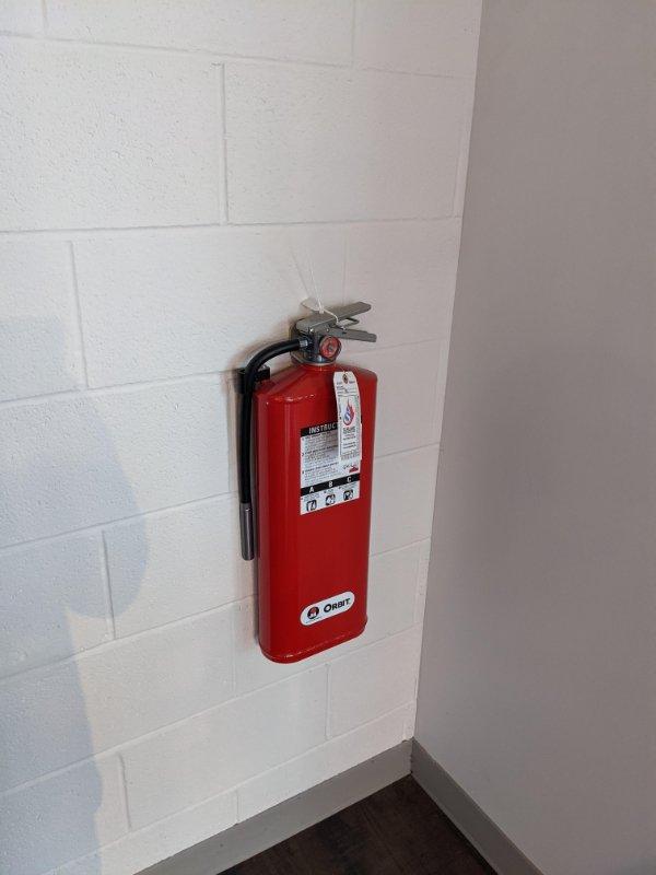 Flat Extinguisher
