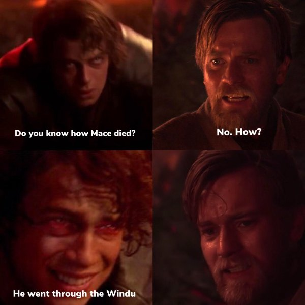 Do you know how Mace died