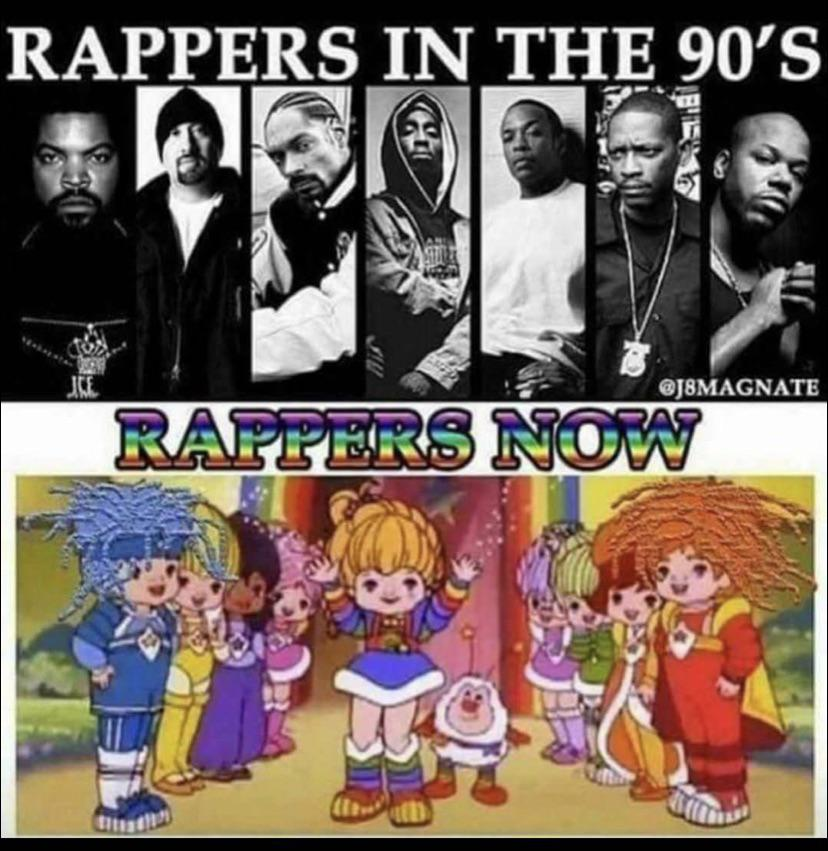 What happened to rap over the years