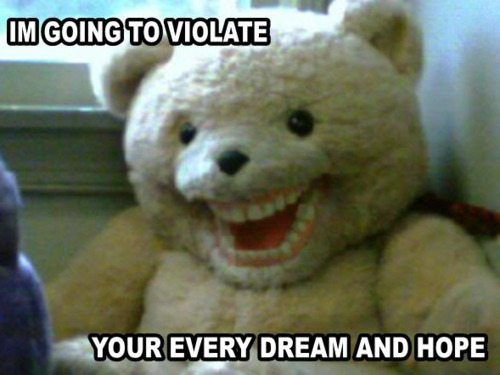 creepybear Scare bear
