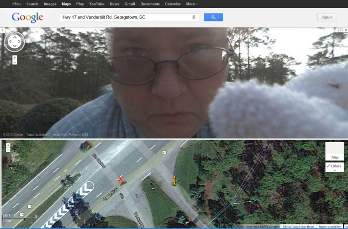 2012 06 26 13 35 55 700x461 Google Street View Bug on Camera