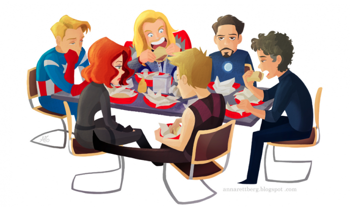 avengersharman6132012 700x413 Where was Loki while they ate Shawarma?