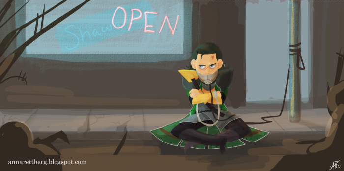 avengersharman61320121 700x348 Where was Loki while they ate Shawarma?