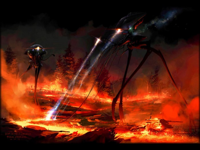 war of the worlds tripod 02 700x525 tripods attack