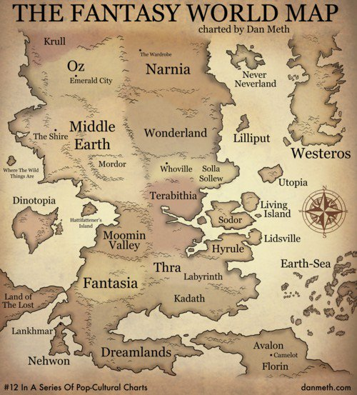 fantasy world map Fantasy World Map