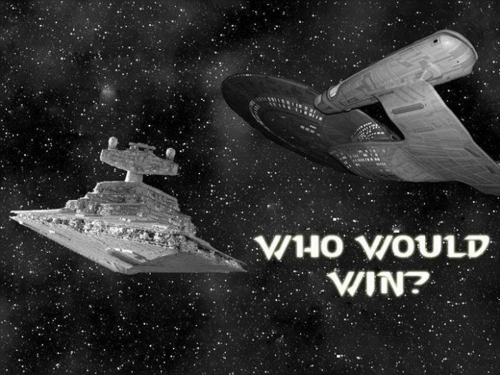 wars vs trek 700x525 Who Would Win?