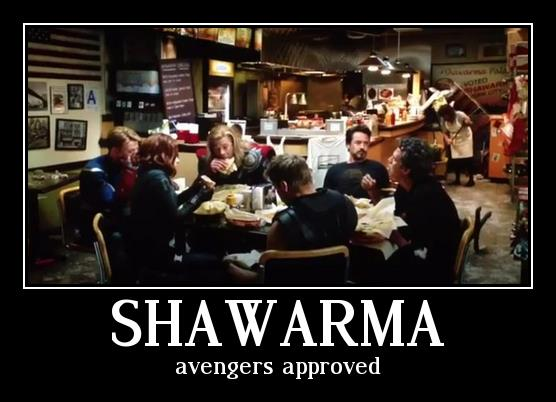 2012 05 08 TheAvengersshawarma Shawarma whedon Movies Food Comics awesome avengers