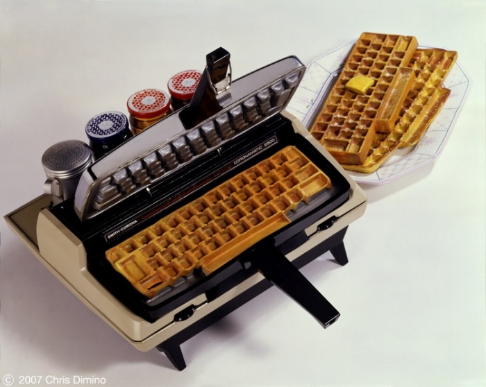 5 Keyboard waffles! funny Food Computers