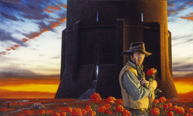 The Dark Tower More Whelan Dark Tower  stephen king fantasy Books Art