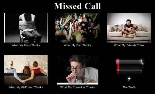 Missed Call lol