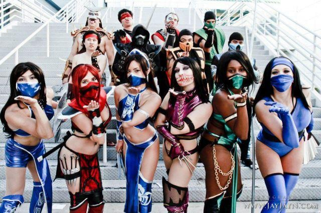 Mortal Combat Cosplay Video Games Mortal Combat cosplay