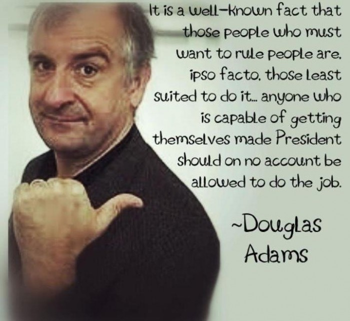 342 700x642 Douglas Adams Quote Hitch Hikers Guide Douglas Adams