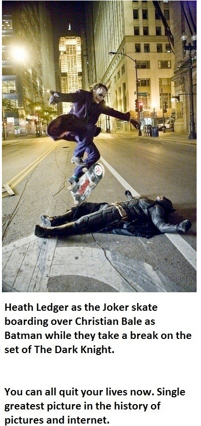 Ledger Bale Ledger & Bale Warners Movies joker Heath Ledger DC batman Bale