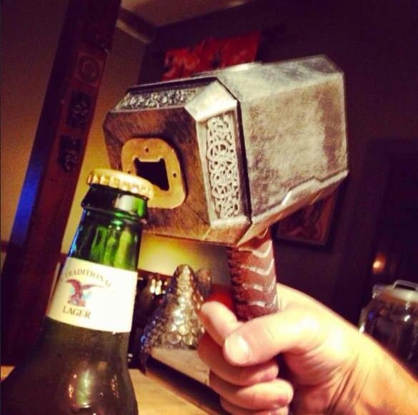 image Mjolnir  Comic Books Beer Awesome Things Alcohol