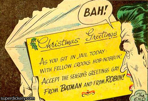 tumblr ljbnxoFZ8d1qbv0jb Seasons Greetings Gay joker Christmas cartoons batman