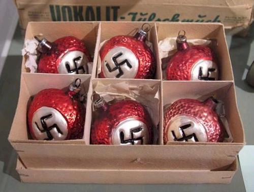 ornaments Nazi Christmas ornaments wtf nazi Christmas