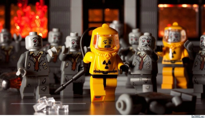 Lego Zombie Apocalypse 700x404 lego wallpapers Wallpaper lego