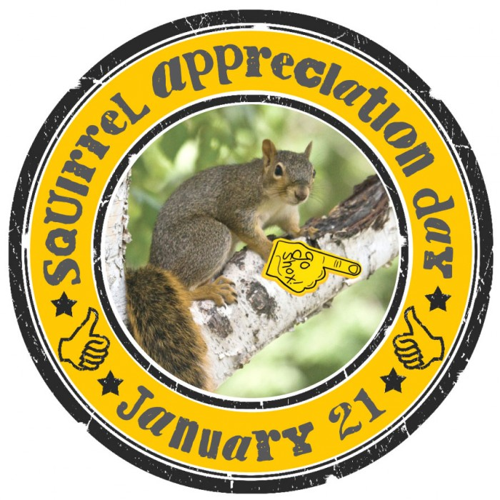 squirrel appreciation days 700x700 Squirrel Appreciation Day Jan 21 tree squirrels Squirrel Appreciation Day squirrel nuts mlk jr mlk fuzzy furry Day cute Appreciation adorable