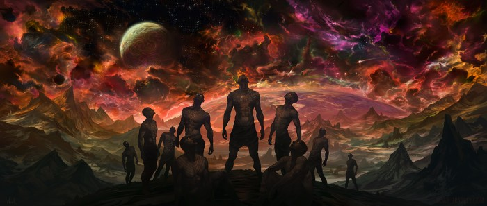 our grasp of heaven by noahbradley d5haaii 700x297 Our Grasp of Heaven scifi Religion illistration fantasy Awesome Things Art