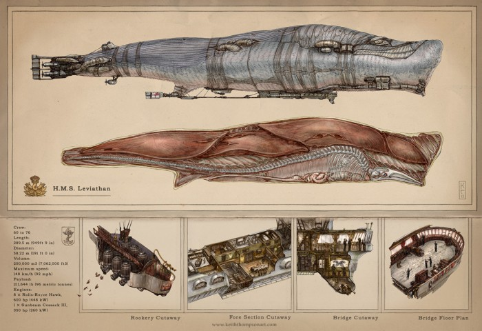 leviathan data 700x480 HMS Leviathan wtf whales scifi interesting illustration fantasy Art