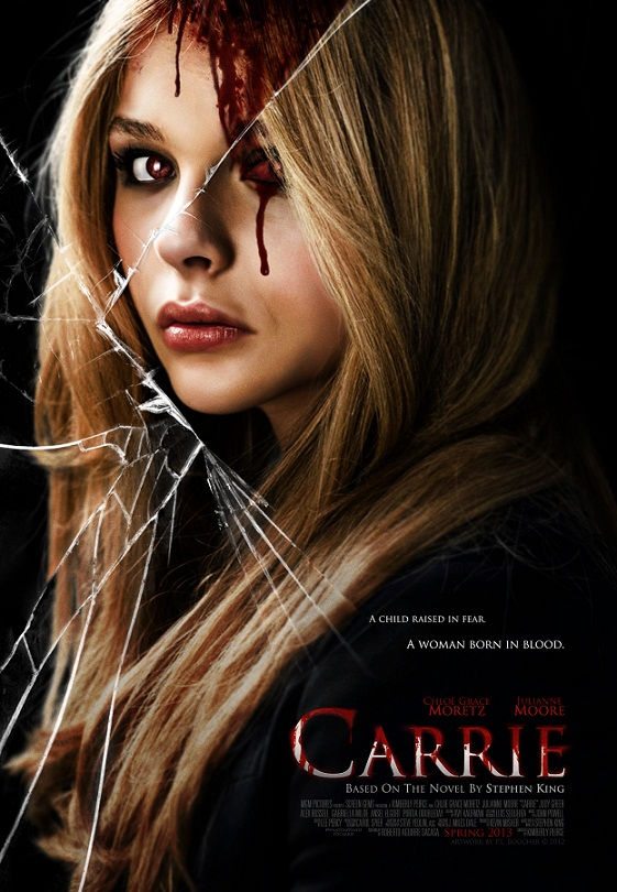 carrie 2013 Carrie   2013 stephen king posters Movies julianne moore horror chloe grace moretz